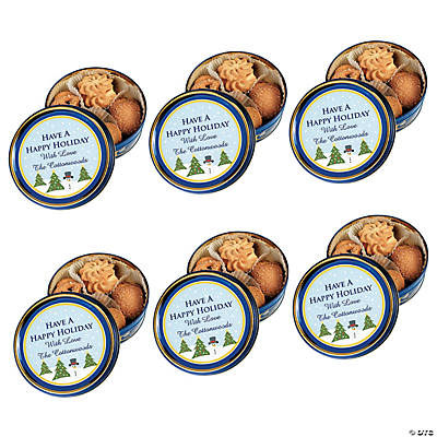 Personalized Holiday Cookie Tins Audio Thumbnail