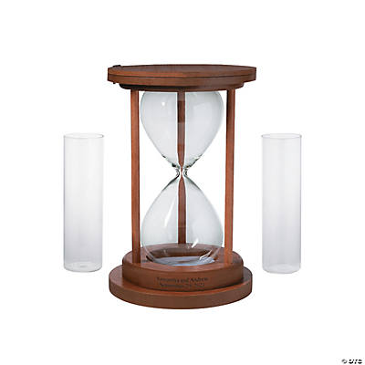Personalized Hourglass Unity Sand Ceremony Set Audio Thumbnail