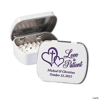 Personalized Love is Patient Mint Tins Image Thumbnail