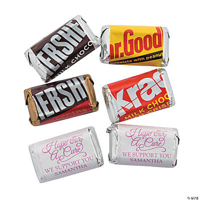 Personalized Mini Candy Bar Sticker Labels