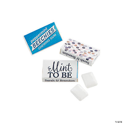 Personalized Mint To Be Beechies<sup>&#174;</sup> Gum