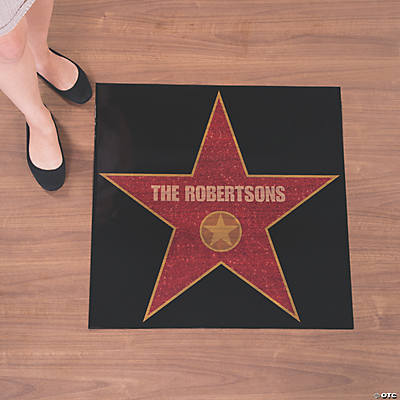 Personalized Movie Night Floor Decal Image Thumbnail