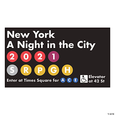Personalized New York City Subway Sign Image Thumbnail