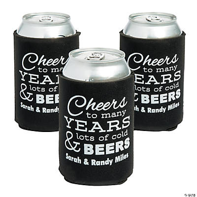 Personalized Premium Cheers to Many... Can Coolers
