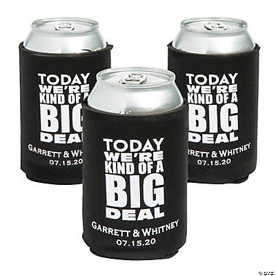 Personalized Premium Kind of a Big Deal Neoprene Can Coolers Image Thumbnail