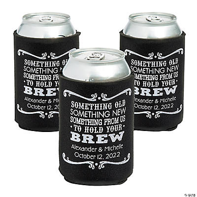 Personalized Premium Something Old Something New Can Coolers