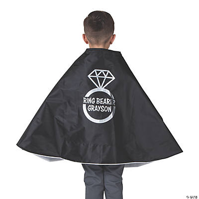 Personalized Ring Bearer Cape Image Thumbnail
