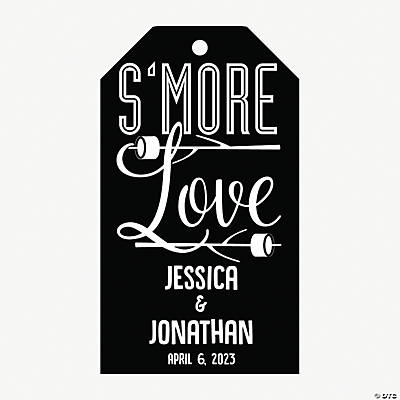 Personalized S'more Favor Tags Image Thumbnail