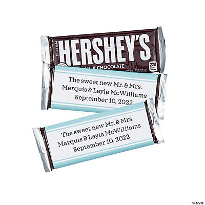 Personalized Simple Candy Bar Labels