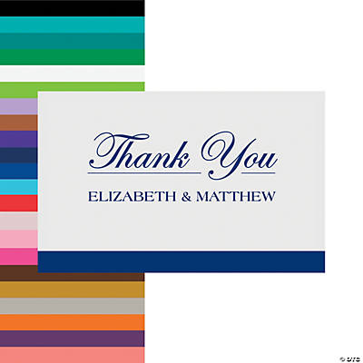 Personalized Simple Thank You Cards Image Thumbnail