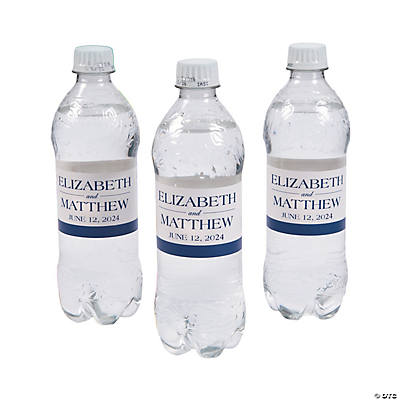 Personalized Simple Water Bottle Labels Image Thumbnail