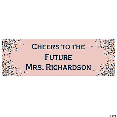 Personalized Small Confetti Design Vinyl Banner Audio Thumbnail