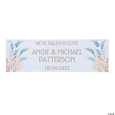 Personalized Small Sweet Fall Vinyl Banner Image Thumbnail