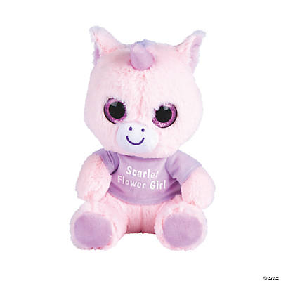 Personalized Stuffed Unicorn Image Thumbnail