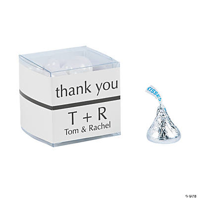 Personalized Thank You Wraps with Favor Boxes