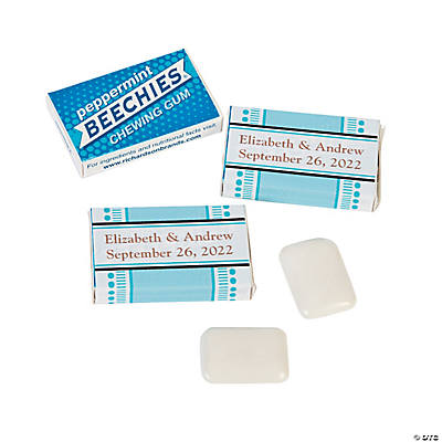 Personalized Wedding Beechies<sup>®</sup> Gum
