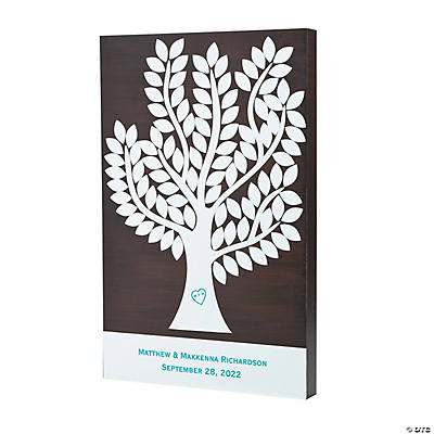 Personalized Wishing Tree Wedding Guest Sign