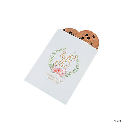 Personalized With Love Treat Bags Image Thumbnail