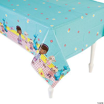 Plastic Doc Mcstuffins Table Cover
