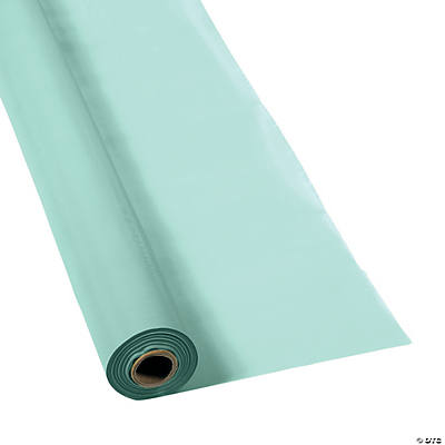 Mint Green Tablecloth Roll