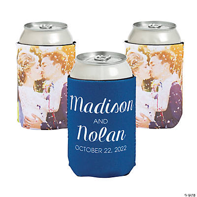 Premium Simple Custom Photo Can Coolers