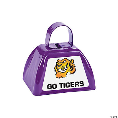 Purple Team Spirit Custom Photo Cowbells Image Thumbnail