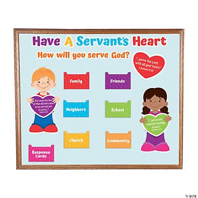 Serving God Mini Bulletin Board Set