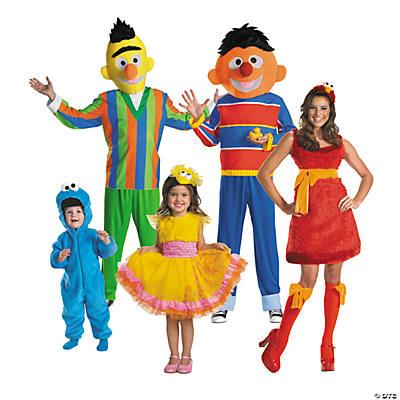 Sesame Street Group Halloween Costumes Orientaltrading Com