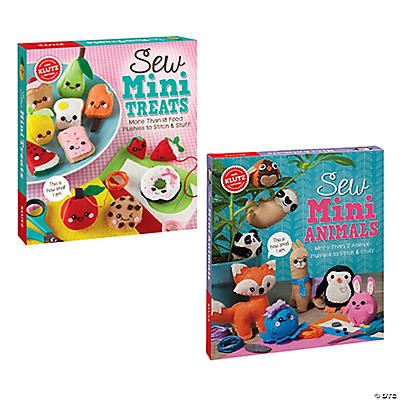 Sew Mini Craft Kits: Set of 2