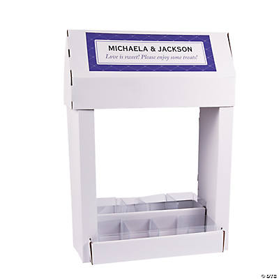 Small Personalized Candy Buffet Stand-Up