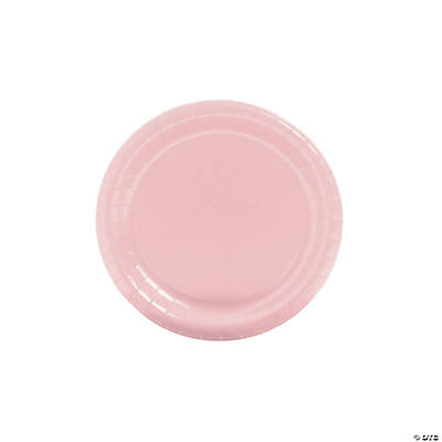 sc 1 st  Fun Express & Solid Color Paper Plates - Lt. Pink