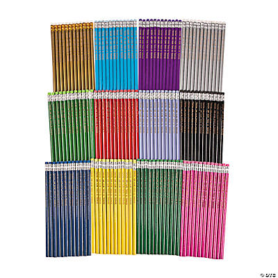 Super Mega Personalized Pencil Assortment - 144 Pc. Image Thumbnail