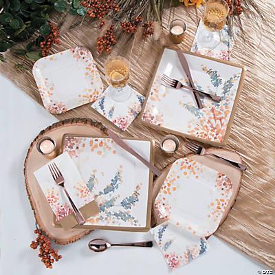 Sweet Fall Dinner Plates & Fall Dinner Plates
