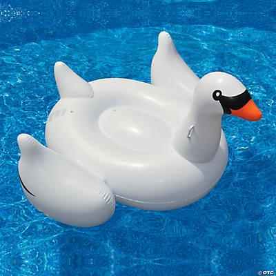 Swimline Inflatable Giant Swan Pool Float