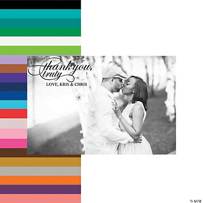 Thank You Wedding Photo Custom Banner Image Thumbnail