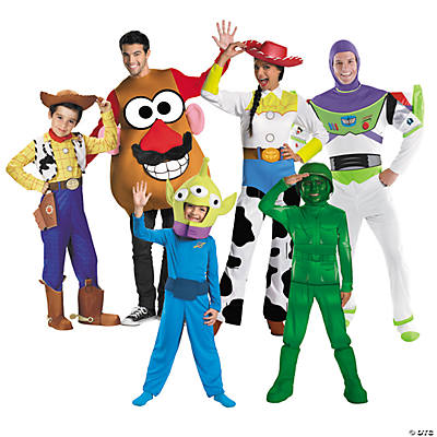 Halloween Group Costumes.Toy Story Group Halloween Costumes Orientaltrading Com