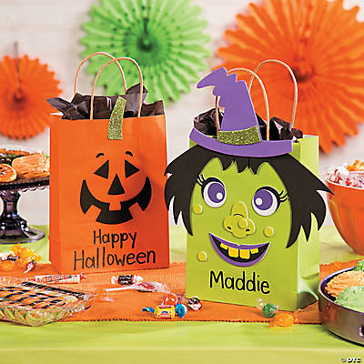 Trick Or Treat Bag Kids Craft Idea