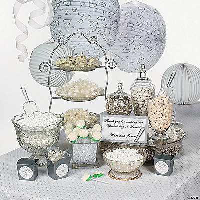 Two Hearts Candy Buffet Idea Image Thumbnail