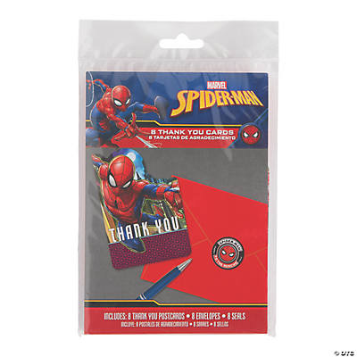 Ultimate Spider Man Thank You Cards