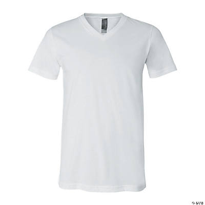 Unisex Short Sleeve V-Neck T-Shirt by Bella + Canvas