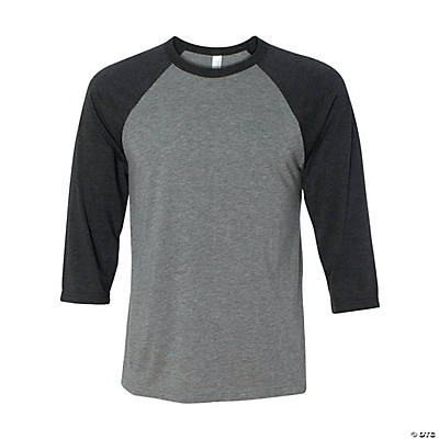 Unisex Three-Quarter Sleeve Baseball T-Shirt by Bella + Canvas Image Thumbnail