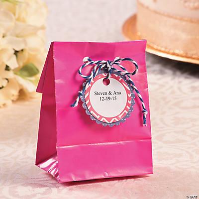 Wedding Favor Bag Printables With Twine