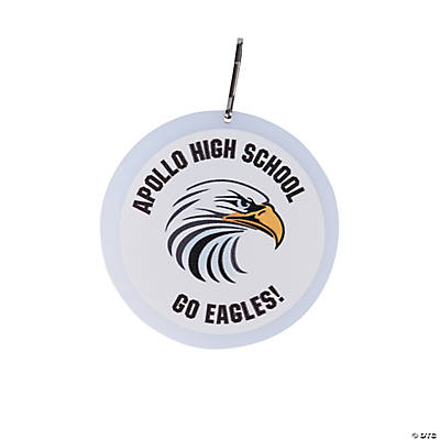 White School Spirit Personalized Charms Image Thumbnail