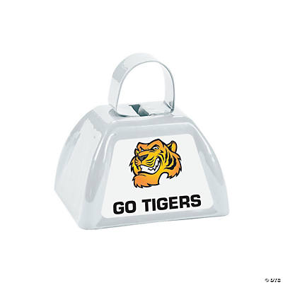 White Team Spirit Custom Photo Cowbells Image Thumbnail