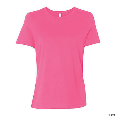 Women's Relaxed Short Sleeve Jersey Tee by Bella + Canvas Image Thumbnail