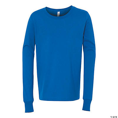 Youth Long Sleeve Jersey T-Shirt by Bella + Canvas Image Thumbnail