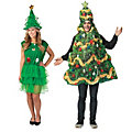 Adult's Christmas Trees Couples Costumes Image Thumbnail 1