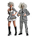 Adult's Beetlejuice Couples Costumes  Image Thumbnail 1