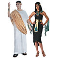 Adult's Caesar and Cleopatra Couples Costumes  Image Thumbnail 1