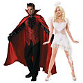 Adult's Devil and Angel Couples Costumes  Image Thumbnail 1